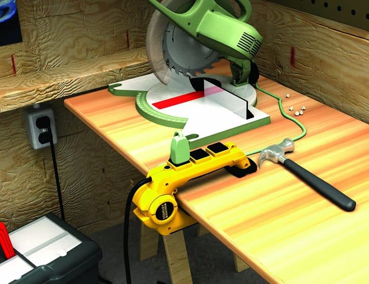 Clamping Power Strip