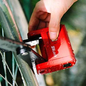 Folding Biometric Bike Lock