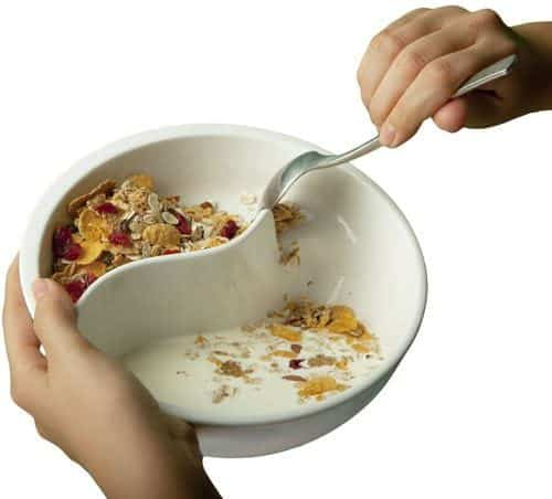 Partitioned Cereal Bowl