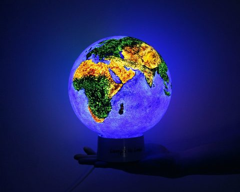 Planet Earth Nightlight