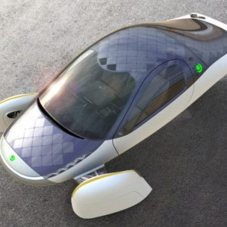 Solar-Powered Electric Vehicle