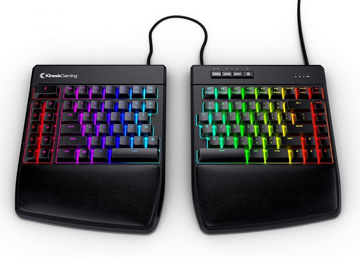 Split Gaming Keyboard