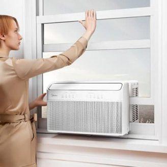 U-Shaped Window Air Conditioner