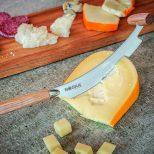Cheese Knife Cutting Gouda Cheese