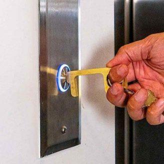 Touch-Free Door Opener Stylus