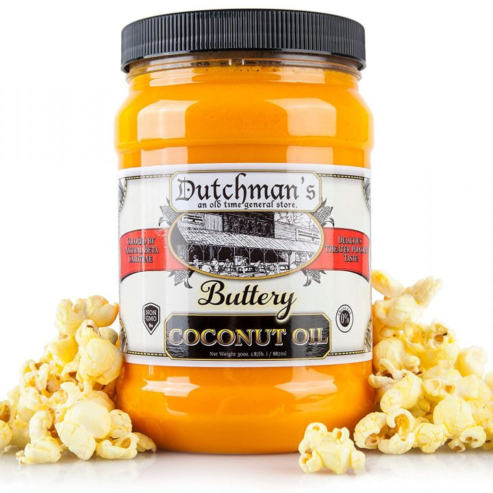 Popcorn Coconut Oil Butter