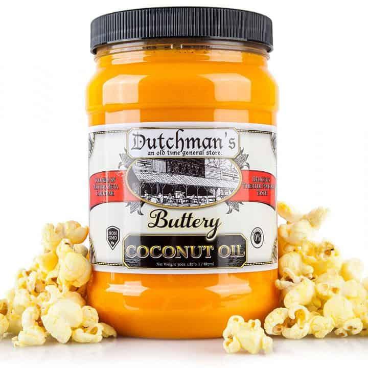 Popcorn Coconut Oil Butter