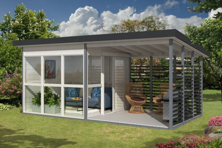 DIY Garden Guest House