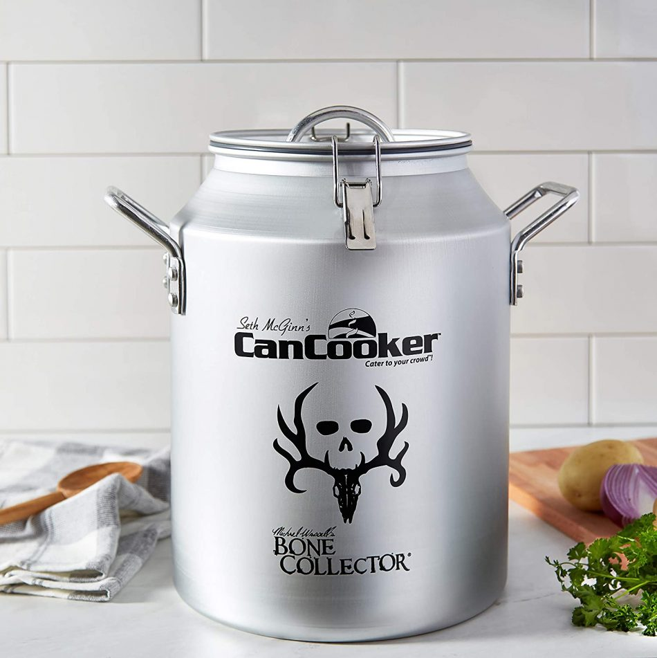 Can Cooker on kitchen countertop