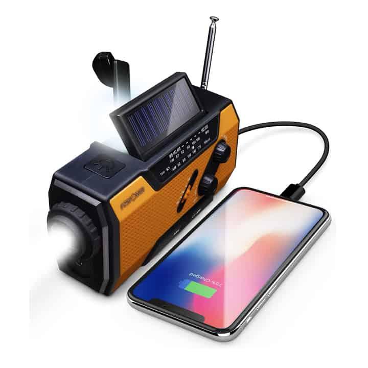 Hand Crank Power Bank for Charging Smartphones