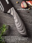 Japanese Chefs Knife Stylish Handle