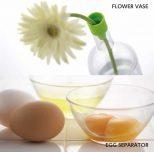 flower vase and egg separator