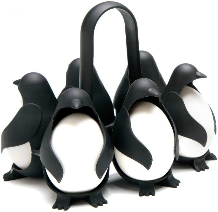 Penguin shaped holders