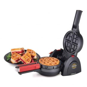 stuffed waffle maker for a variety of stuffed waffles