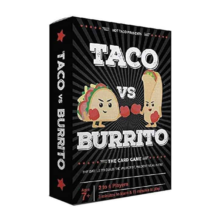 Taco vs Burrito Card Game