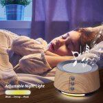 White Noise Sleep Machine use in kids bedroom