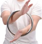 Wing Chun Training Ring keeps the elbow centered