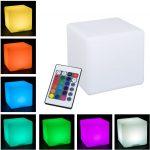 seven different light colors