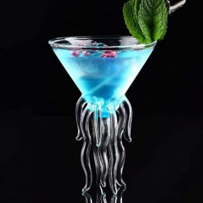 Jellyfish Cocktail Glasses