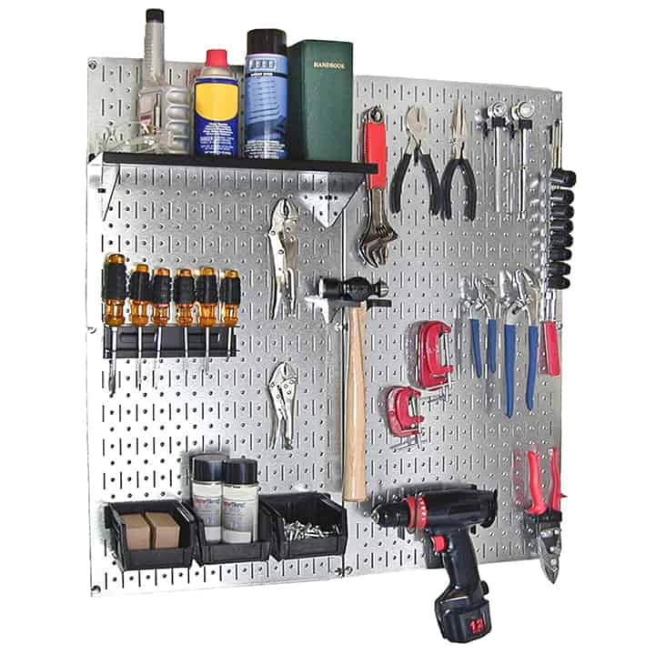 Metal Pegboard Tool Organizer