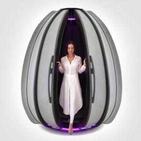 Open Seed Meditation Pod