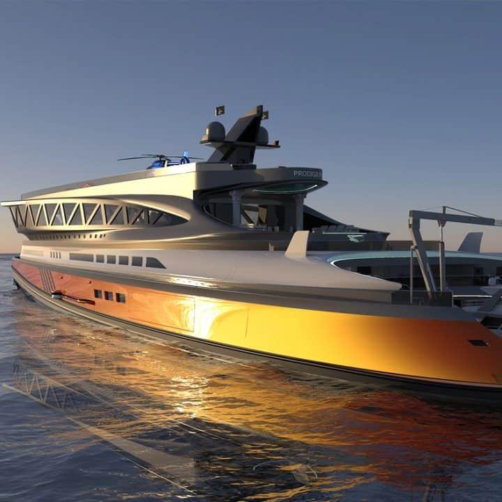 Prodigium Shark Yacht Concept