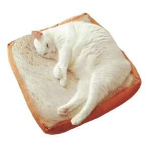 Slice of Bread Cat Bed