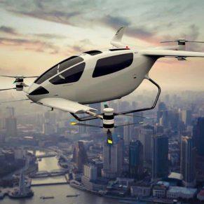 electric VTOL aircraft