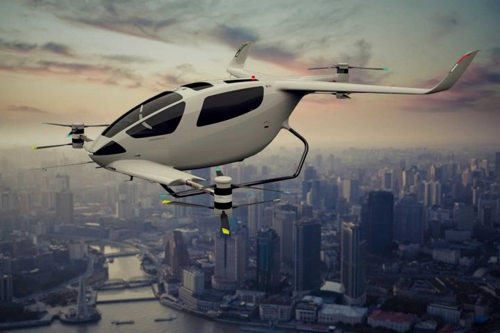 electric VTOL aircraft