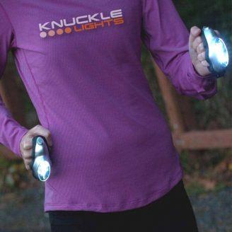 Knuckle Lights For Running After Dark
