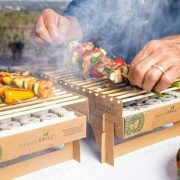 Single Use Biodegradable Mini Grill