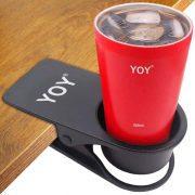 Table Desk Side Clip Drink Holder
