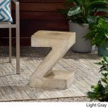 Z-Shaped Outdoor Concrete Table2