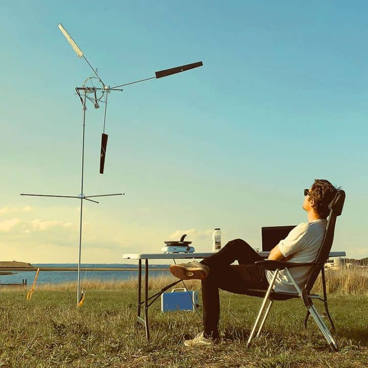 Off-Grid Portable Wind Turbine