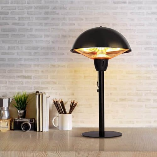 Outdoor Tabletop Infrared Heat Lamp