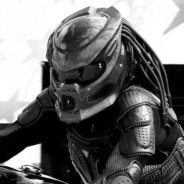 The Predator Motorcycle Helmet