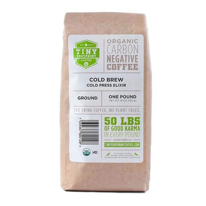 Tiny Footprint Carbon Negative Coffee