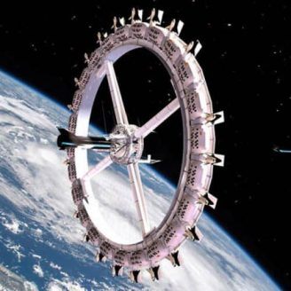 Voyager Station Orbiting Space Hotel