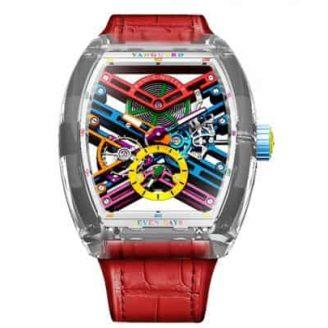 Vanguard Skeleton Sapphire timepiece