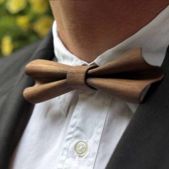 Wood Bow Ties