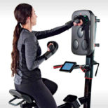 LifeSpan Fitness Cycle Boxer - Upright Exercise Bike with Interactive Boxing Punch Pad4.jpg