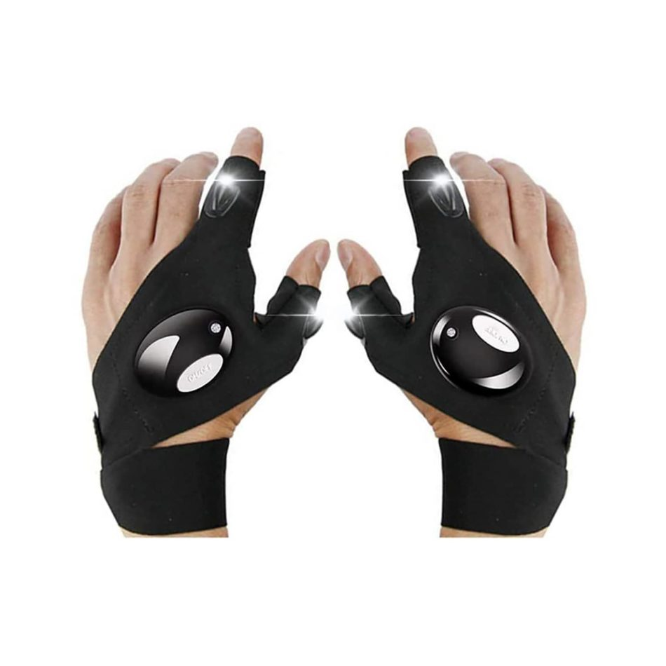These LED Flashlight Gloves Makes Your Life Much Easier After Dark2