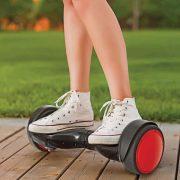 electric gyroboard skateboard