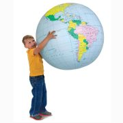 Inflatable-world-globe