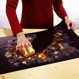 non-stick heat resistant oven liners