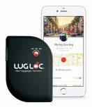 Luggage-Tracking-Device paired with a smartphone
