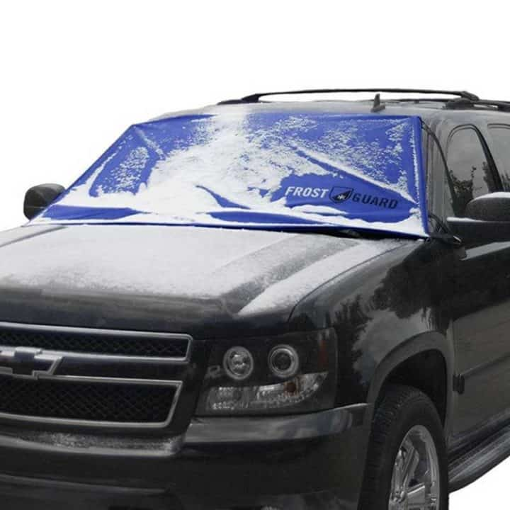 winter windshield cover on chevy suburban SUV