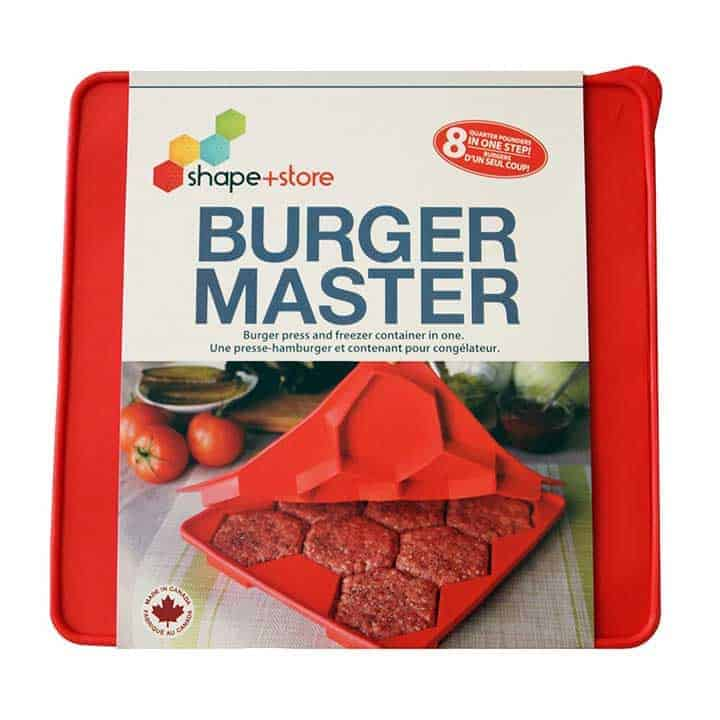 Burger-Patty-Press in Commercial Package