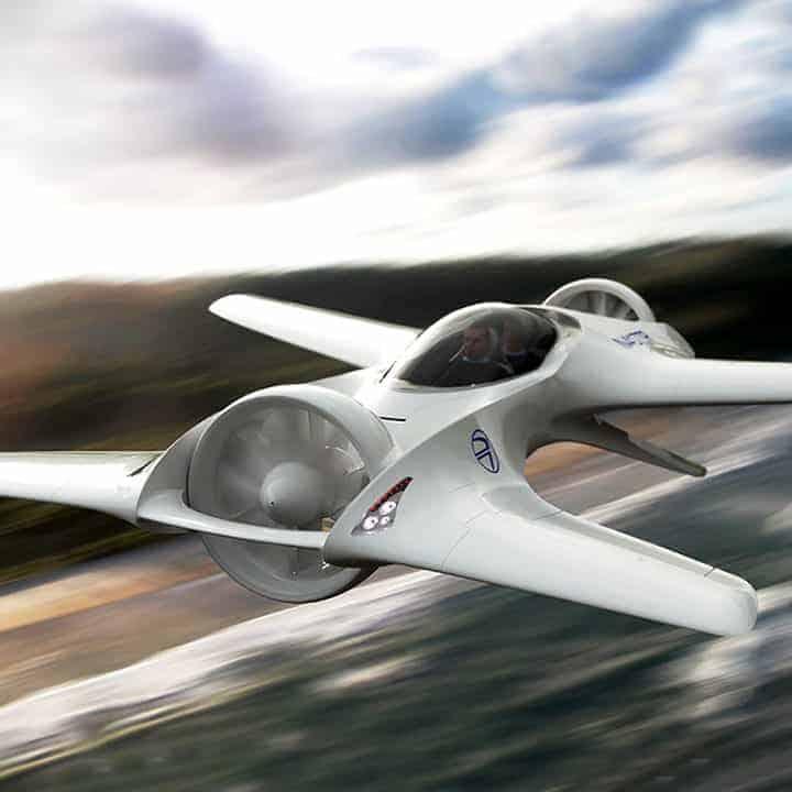 DR-7-Flying-Car in flight