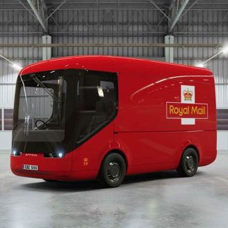 electric mail delivery vans
